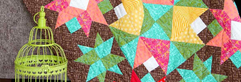 Quilting | Joyful Blooms Quilt - Sarah Vanderburgh
