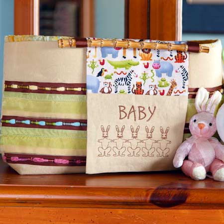 A Day at the Zoo Diaper Bag