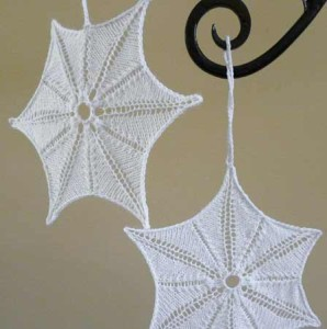 A Simple Snowflake Ornament