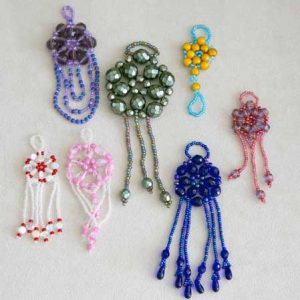 Beaded Medallion Ornaments