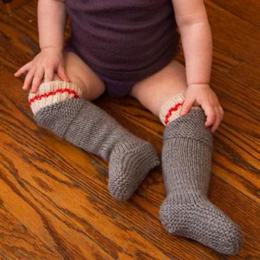 Bendy Bootees – Bootees with Knees