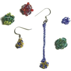 Fun & Fast Beaded Bead Earrings