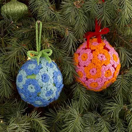 Flower Ball Ornament