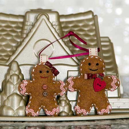 Gingerbread Love Ornaments