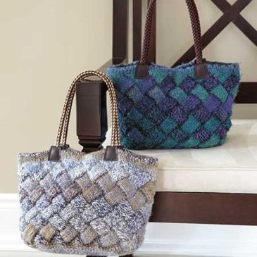 Nifty – The Entrelac Bag