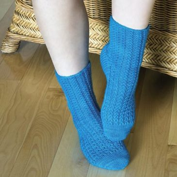 Seashell Lace Socks