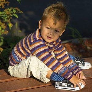 Child's Play Slip Stitch Stripe Sweater