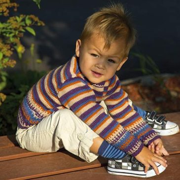 Child's Play Slip Stitch Stripe Sweater