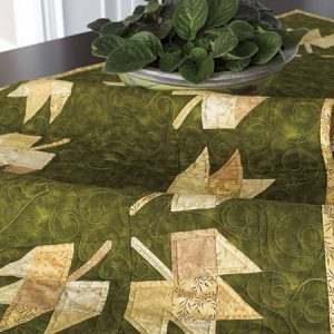 Golden Leaf Table Runner