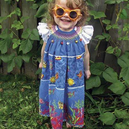 I Wish, I Wish, I Catch a Fish Sun Dress