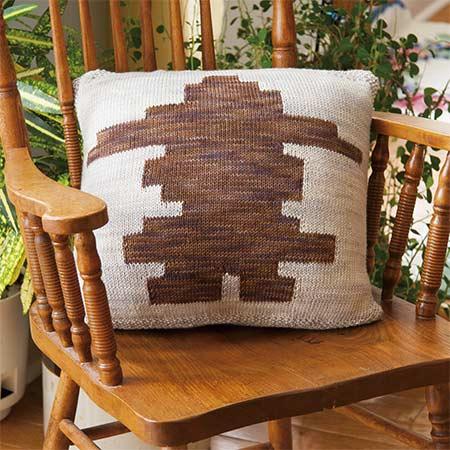 Inukshuk Reversible Cushion - front
