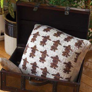 Inukshuk Reversible Cushion - back