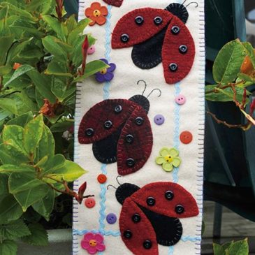 Ladybug Parade Banner