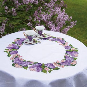 Lilac Lovely Table Topper