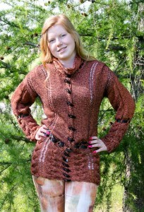 Mountain Joy Cardigan front view