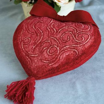 My Heart Aflutter Pillow