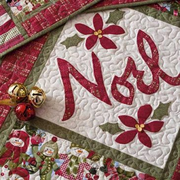 Noel Runner and Placemats