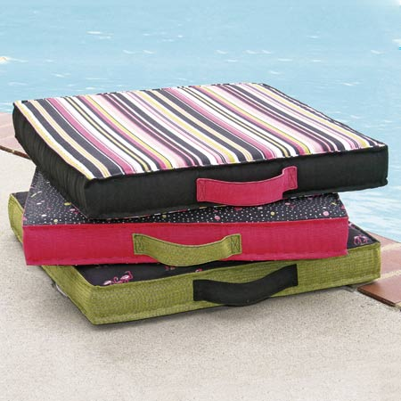 Poolside Pillows