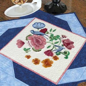 Summer in a Square Table Topper