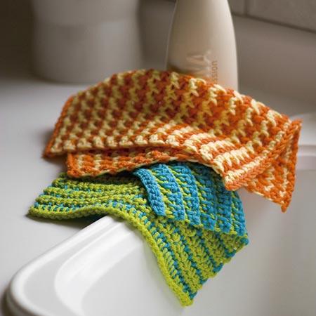Sunny Day & Seaside Dishcloths