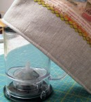Tea Steeper Cozy close-up