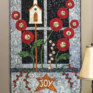 Winter Window Wallhanging