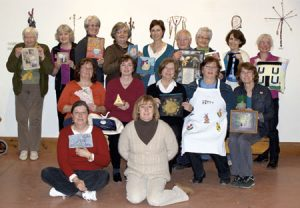Oakville Stitchery Guild members