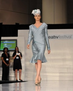 Academy of Design at RCC Institute of Technology catwalk model 2011