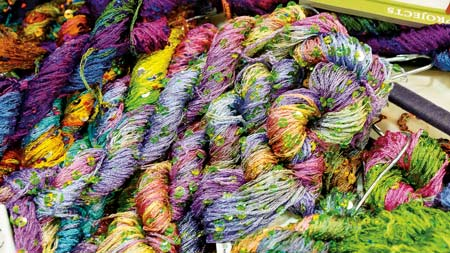 yarn selections detail