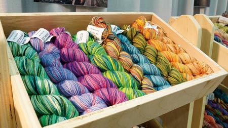Eye Candy in a Yarn Shop