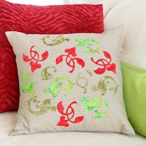 Banish Winter Blahs Cushion