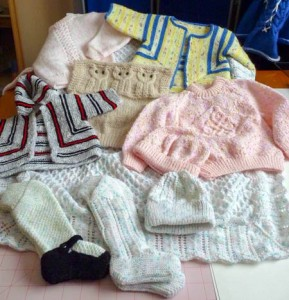 Handmade knitted gifts