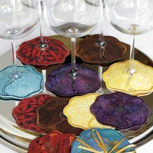 Zany Wine Coasters