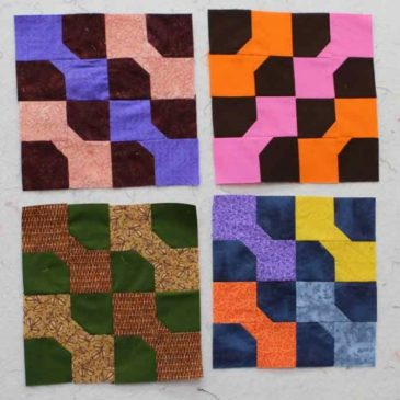 Crazy Quilter on a Bike!: Amish with a Twist II