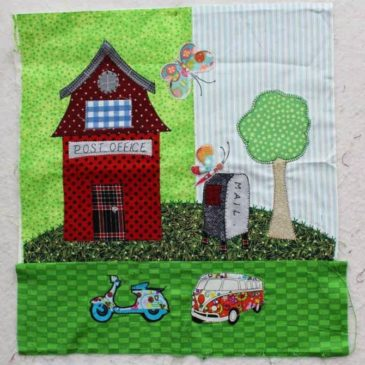 Construction up in Tiny Town! – Crazy Quilter on a Bike!