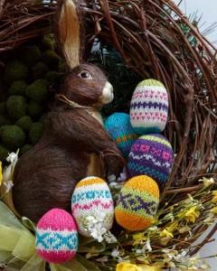 Fairisle Eggs