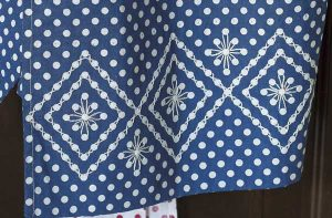 Going Dotty Aprons detail