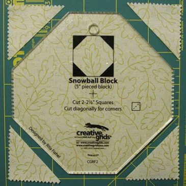 How to Use the Snowball Template | Quilts By Jen