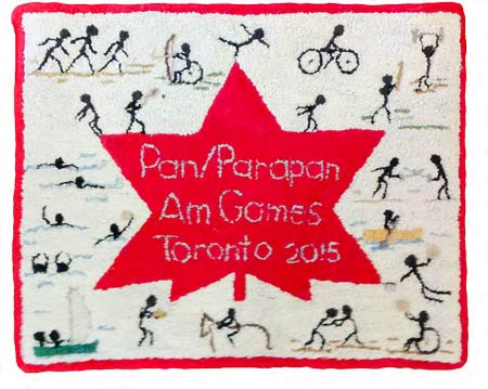 Woolly Canadian Mementoes for Pan/Parapan Am Games 2015