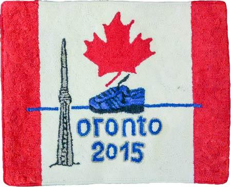 Pan Am Games 2015 hooked rug 2