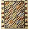 Scrappy Hearts Quilt - full