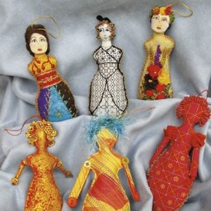 The Guilded Ladies Ornaments