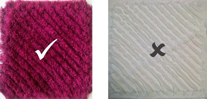 Create the Look and Feel of Fabric Chenille