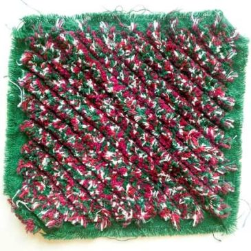 Creative Variations in Fabric Chenille