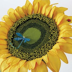 A Global Warming Sunflower - detail