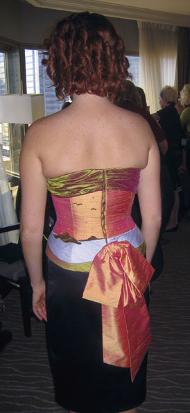 Storybook Corset - back view