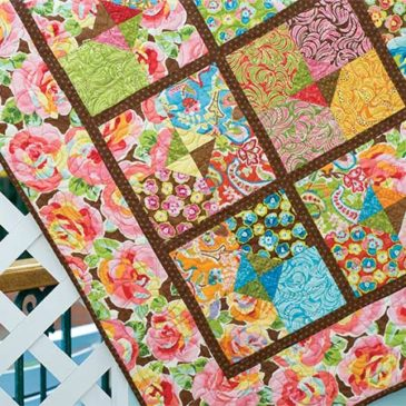 Summer Breezes Patio Quilt