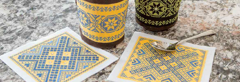 Machine Embroidery   Tea Time Set - Cheryl Stranges