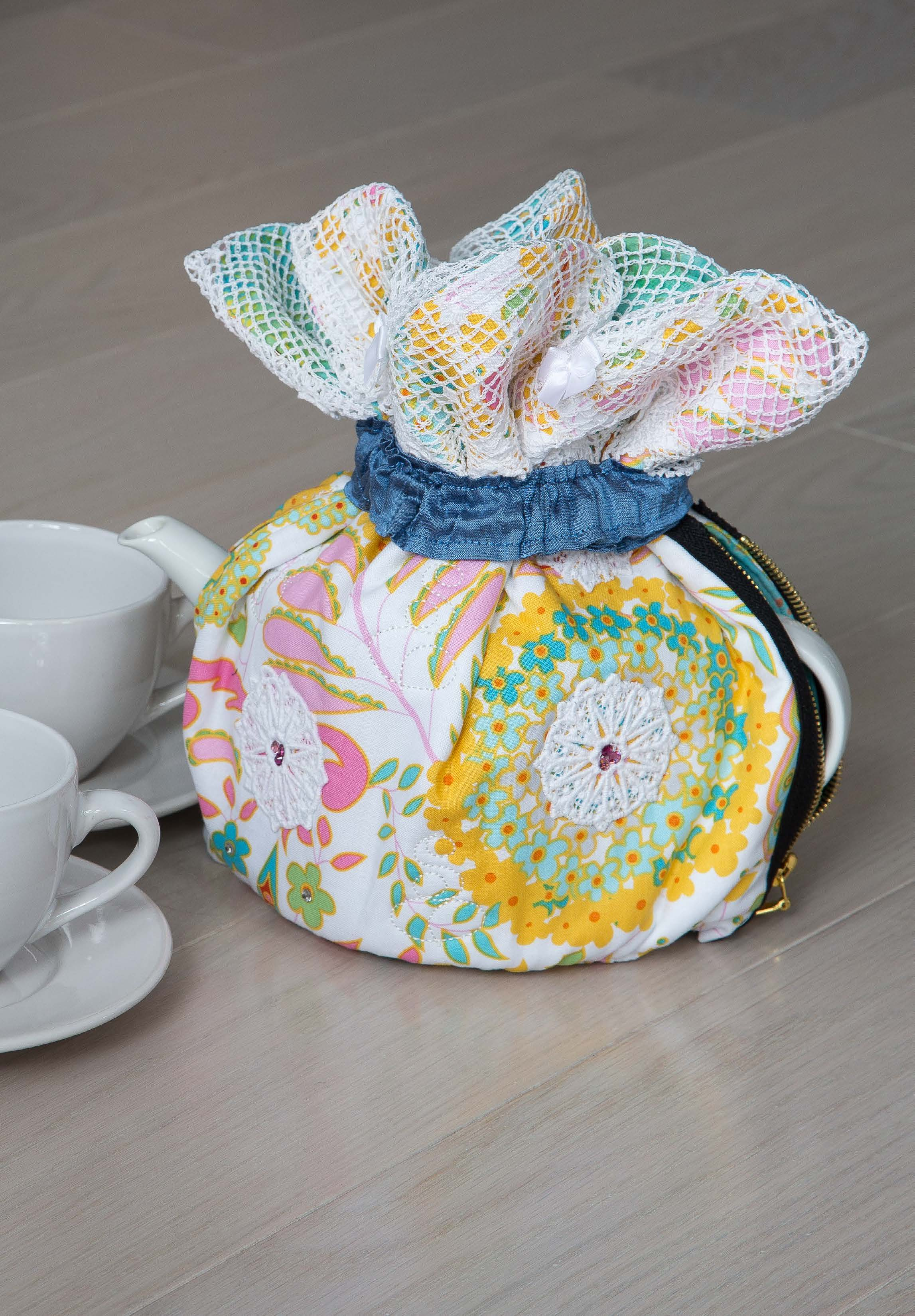 Tea Time Set Pattern - Spring 2016