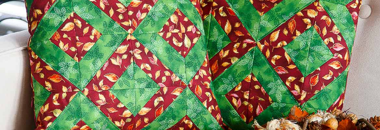 Autumn Comfort Decorative Cushions, Donna Housley & Cathy McLean